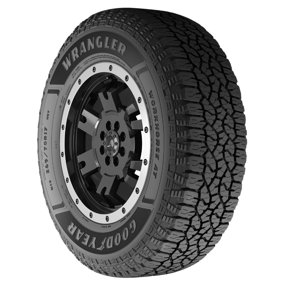 GOODYEAR WORKHORSE AT - SIZE: 245/65R17 107T